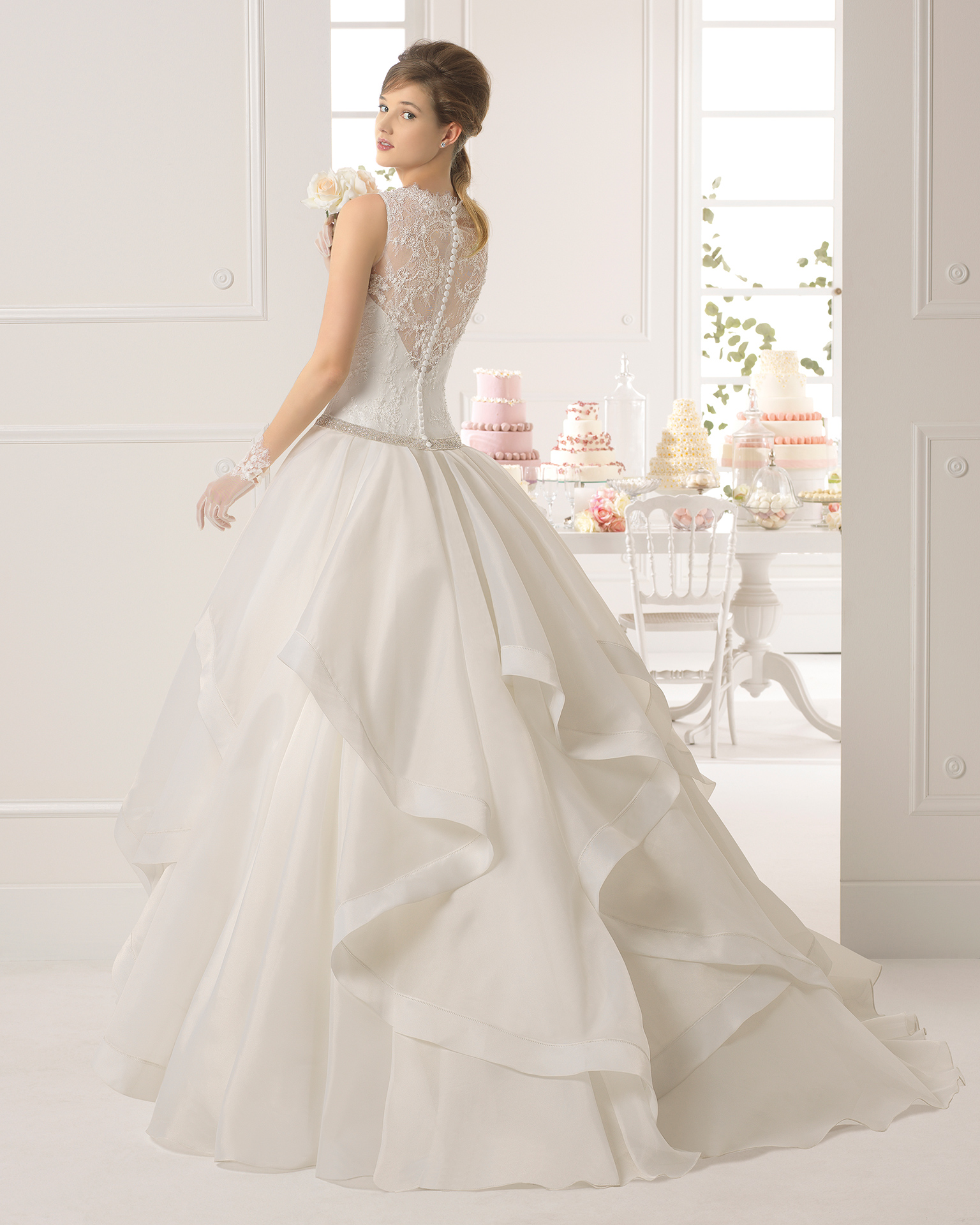 Vestido novia anabel pronovias
